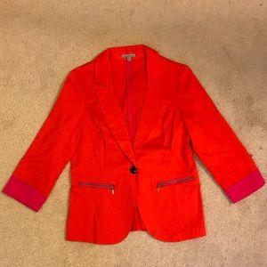 Pink/Orange Blazer